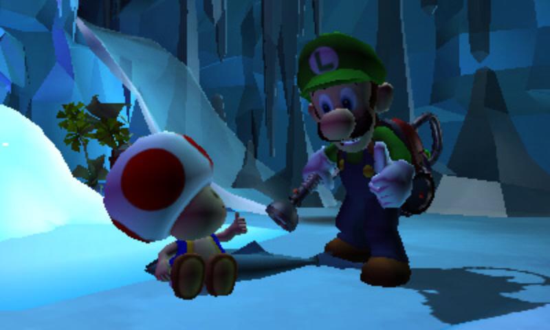 Luigi's Mansion: Dark Moon (Nintendo 3DS) Review Screenshot