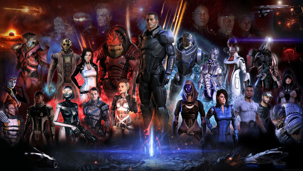 BioWare is hard at work on unannounced DLC for Mass Effect 3