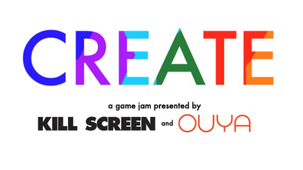 Ouya's CREATE game jam leads developers to create over 150 games in 10 days