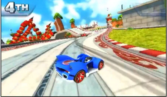 Sonic & All-Stars Racing Transformed (Nintendo 3DS) Review Screenshot