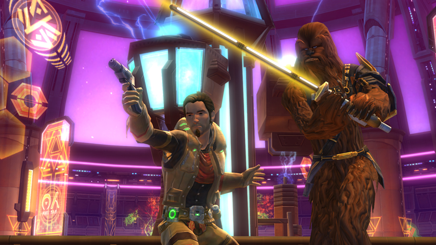 BioWare addresses open world PvP and same sex relationships in Star Wars: The Old Republic