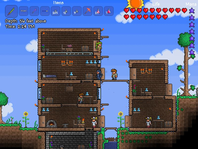 Terraria is coming to consoles in February along with new content