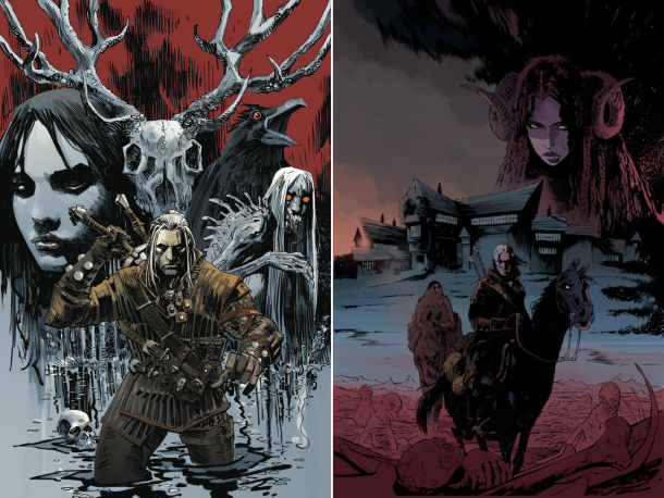 Witcher comic book series coming courtesy of Dark Horse next year