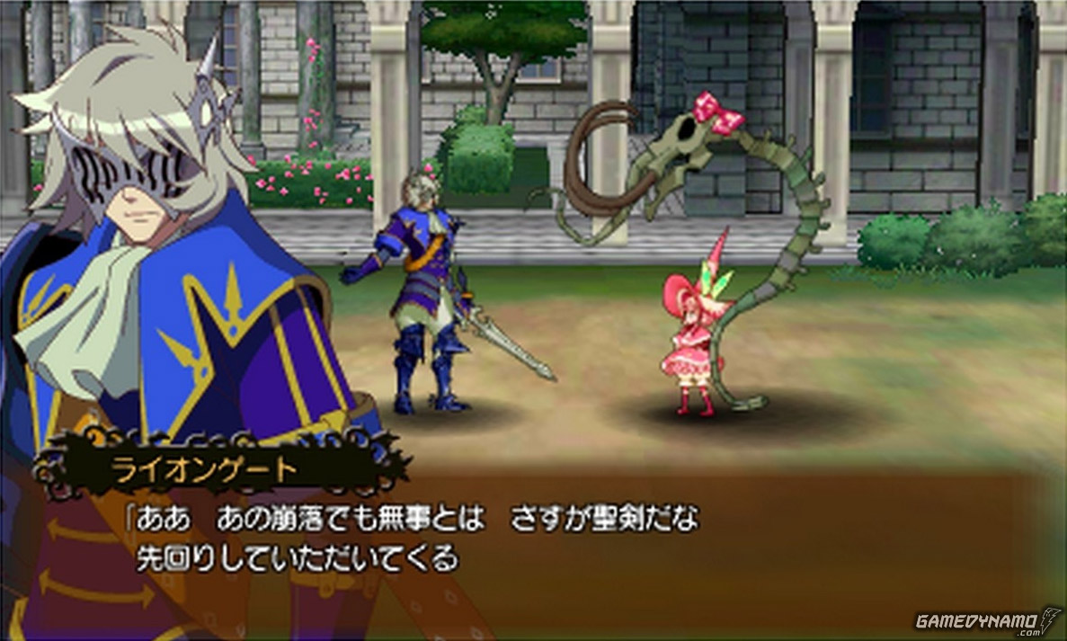 Code of Princess (Nintendo 3DS) Review Screenshots