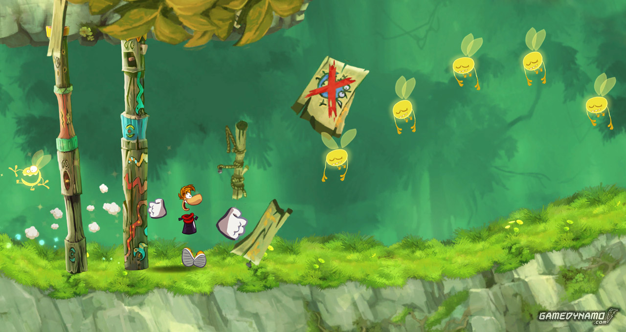 Rayman: Jungle Run (Mobile) Screenshots