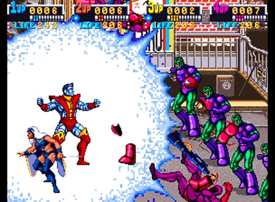 The X-Men in all their beat em' up glory