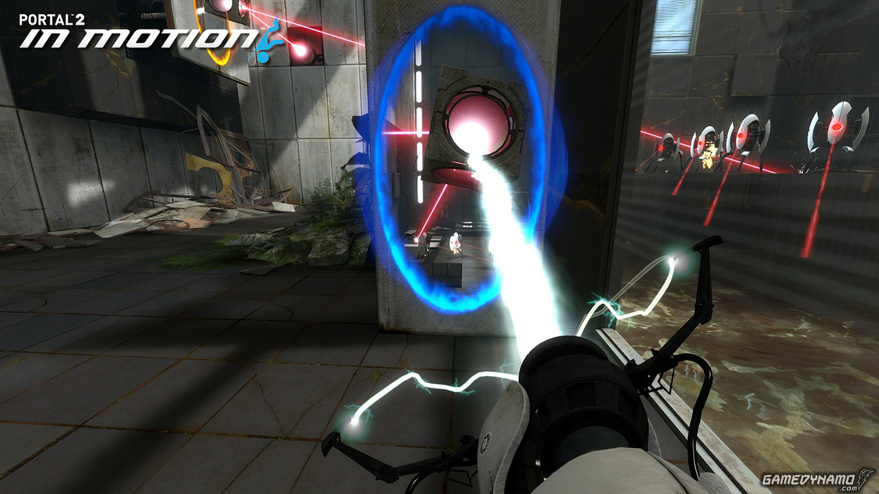 game news portal 2 in motion dlc coming exclusively to psn debut