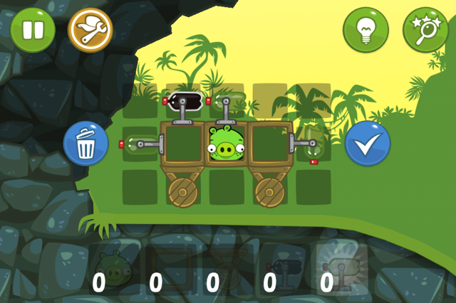 Bad Piggies (iOS) Review Screenshots