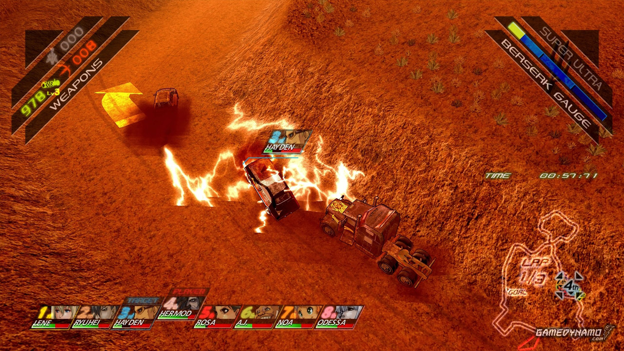 Fuel Overdose (PC, PS3) Review Screenshots