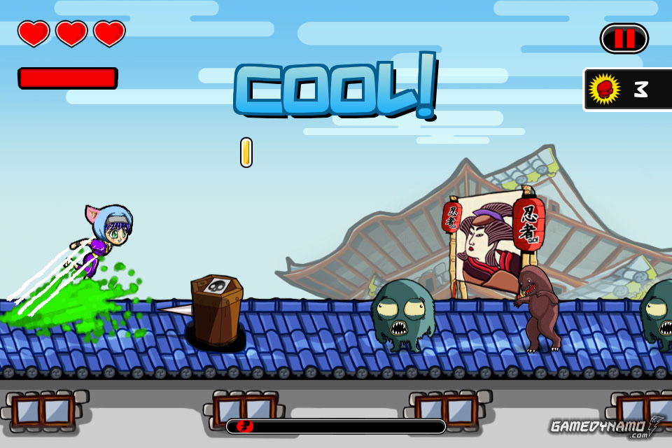 Ninja Sprint (Mobile) Review Screenshots