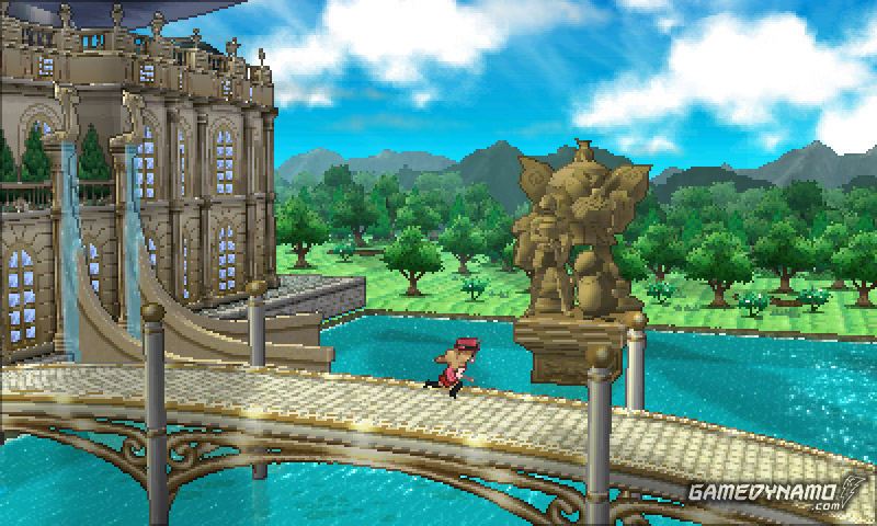 Pokémon X and Y screenshots for 3DS
