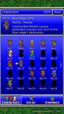 Final Fantasy All The Bravest (iOS/ Android) Review Screenshots