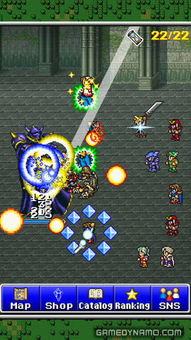 Final Fantasy All The Bravest (iOS/ Android) Screenshots