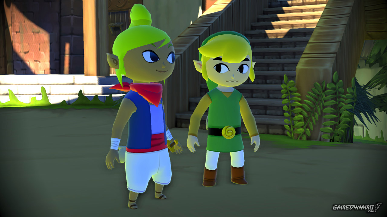 The Legend of Zelda: The Wind Waker HD (Wii U) Preview Screenshot