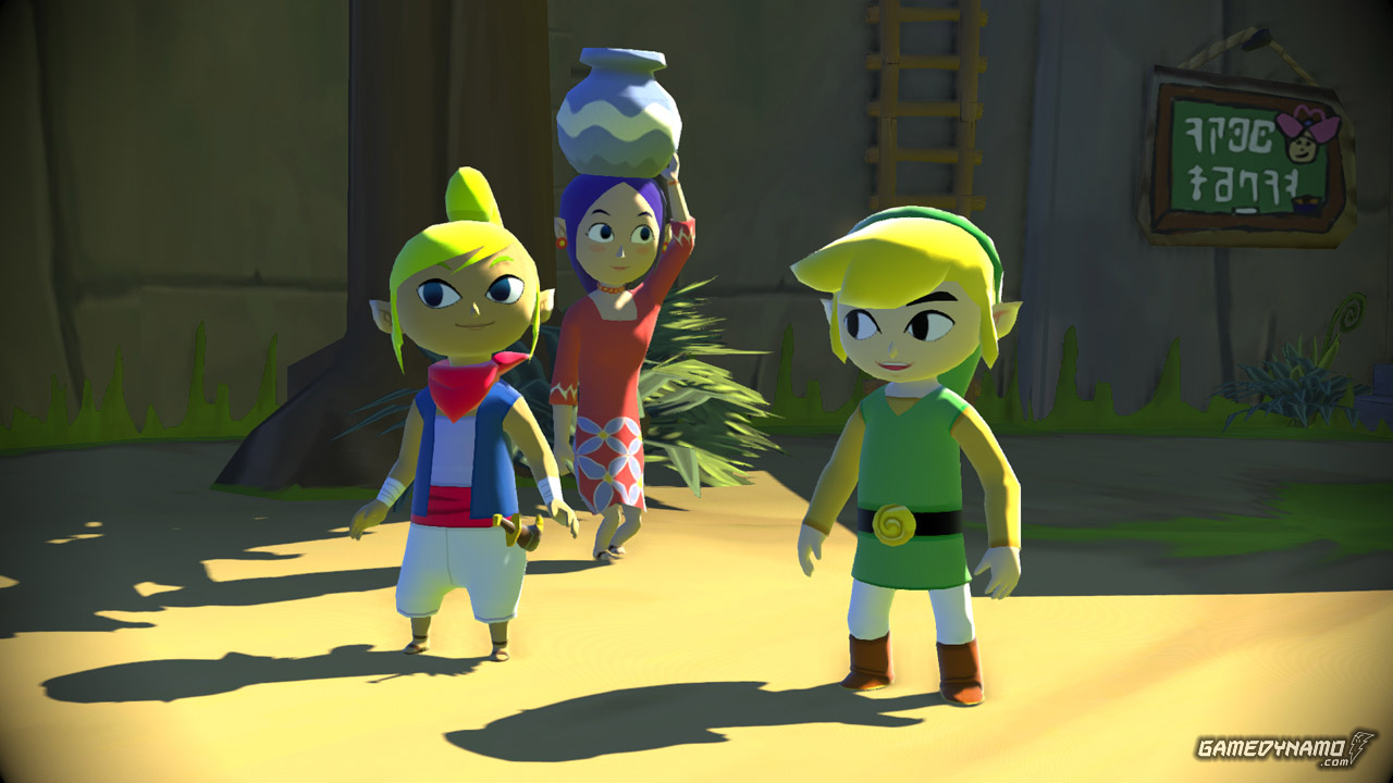 The Legend of Zelda: The Wind Waker HD (Wii U) Review Screenshots