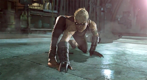 Batman: Arkham Origins Copperhead Character Reveal trailer