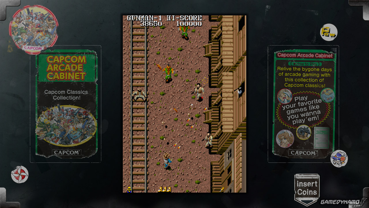 Capcom Arcade Cabinet Screenshots (PS3, Xbox 360) - Gun Smoke
