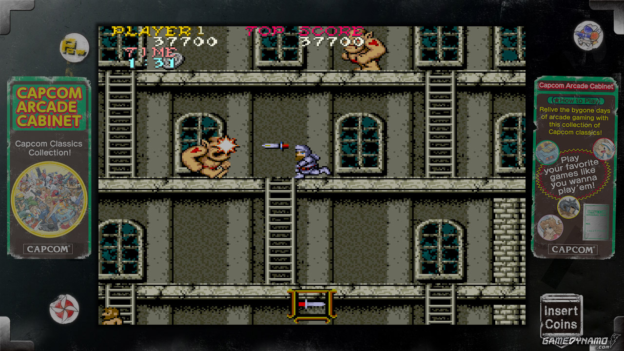 Capcom Arcade Cabinet Screenshots (PS3, Xbox 360) - Ghosts'n Goblins