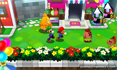 Mario & Luigi: Dream Team (Nintendo 3DS) Review Screenshot