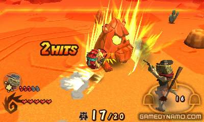 Dillon's Rolling Western: The Last Ranger (Nintendo 3DS) Review Screenshot