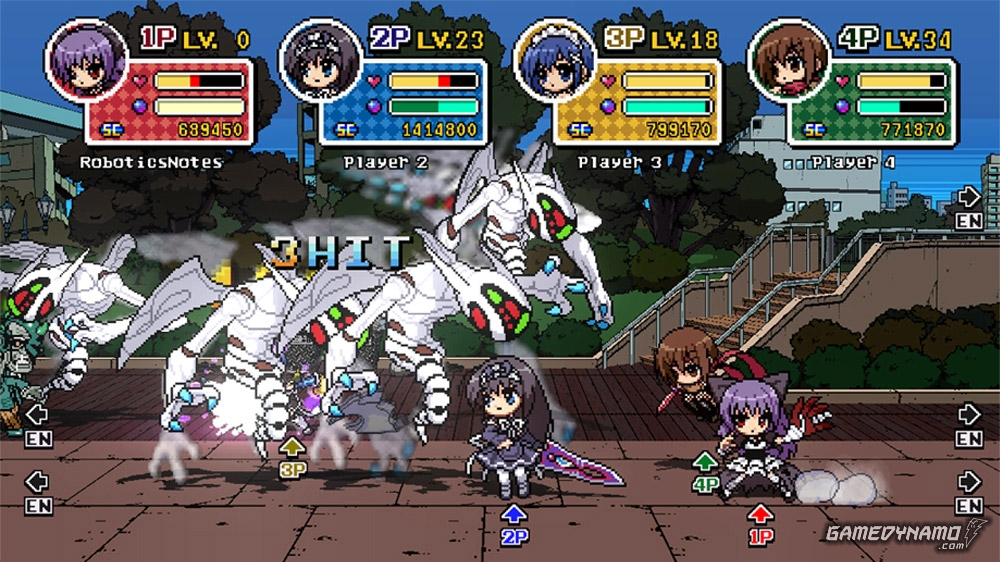 Phantom Breaker: Battlegrounds Review Screenshots (Xbox 360)