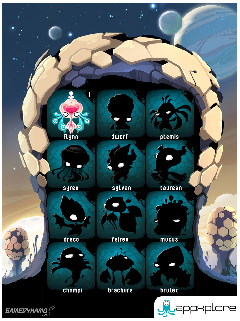 Alien Hive (iPhone, iPad) Review Screenshots