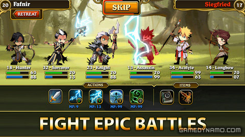 Fantasy Quest Clash Of Kingdoms Iphone Ipad Android Review