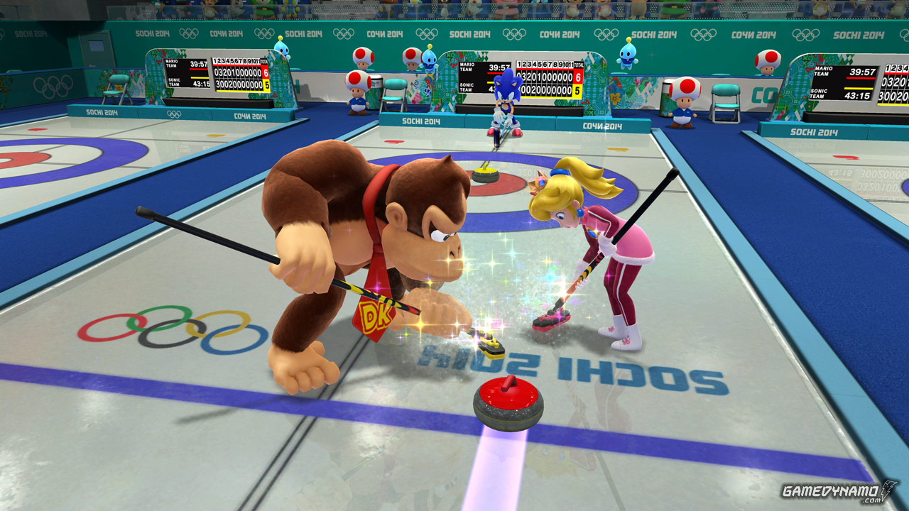Mario & Sonic at the Sochi 2014 Olympic Winter Games ...