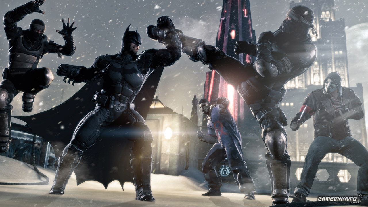 Batman: Arkham Origins(PS3, PS4, PC, 360, Xbox One, Wii, Wii U) Preview Screenshots