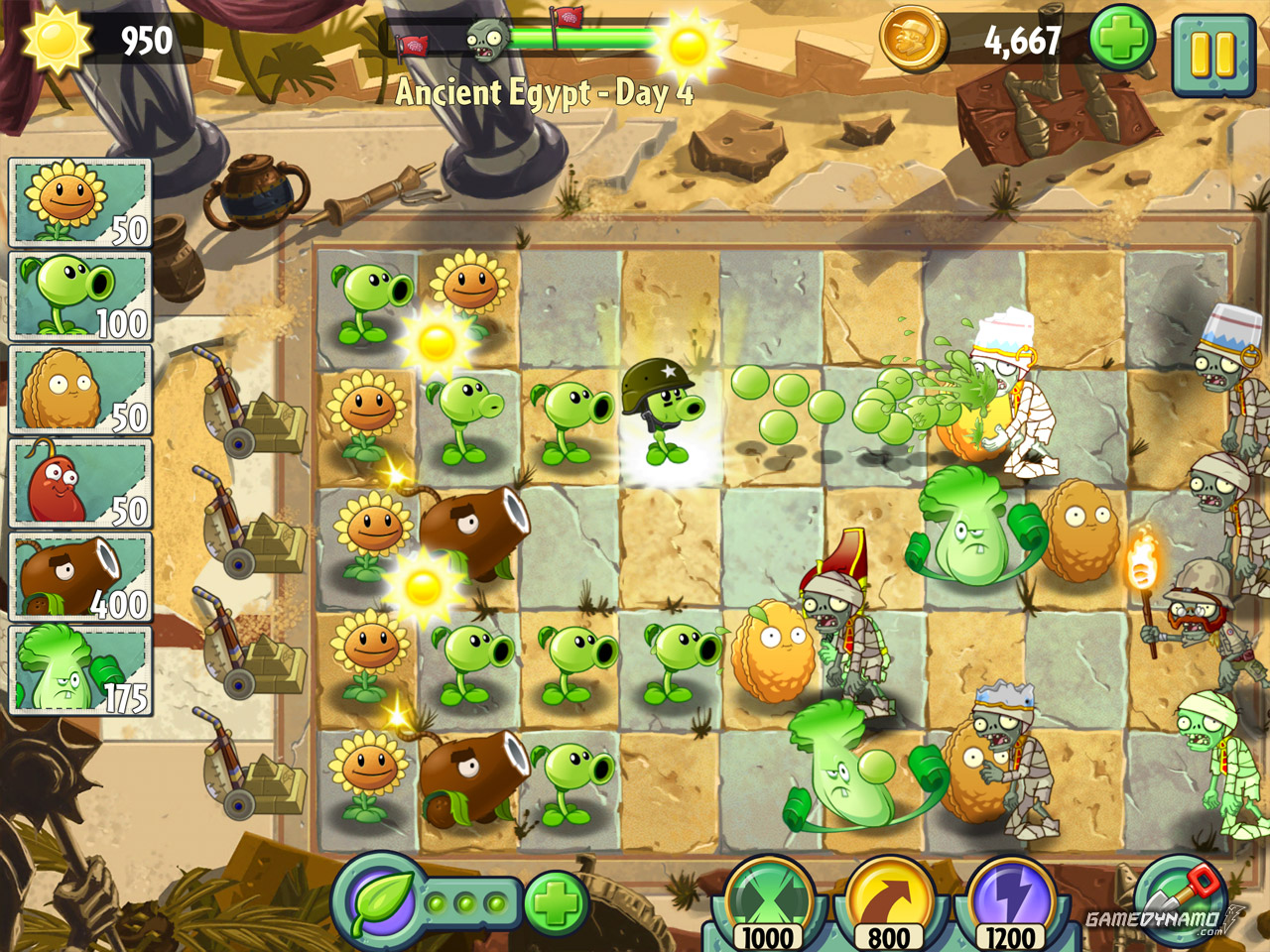 Plants Vs Zombies 2 Iphone Ipad Android Review Gamedynamo