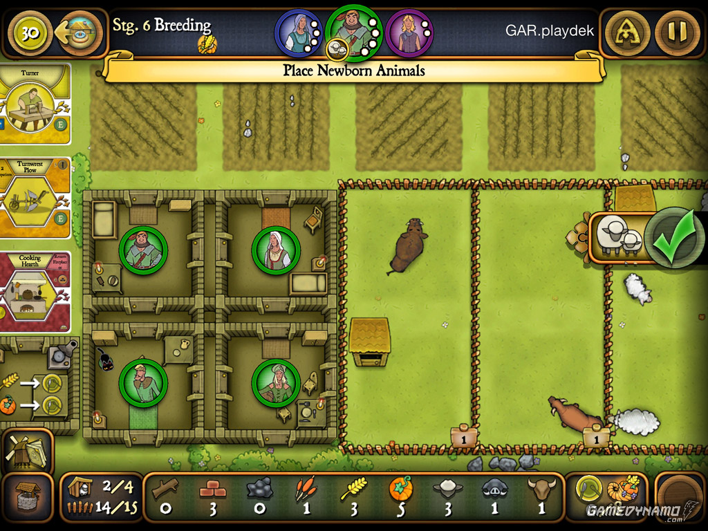 Agricola (Mobile) Review Screenshot