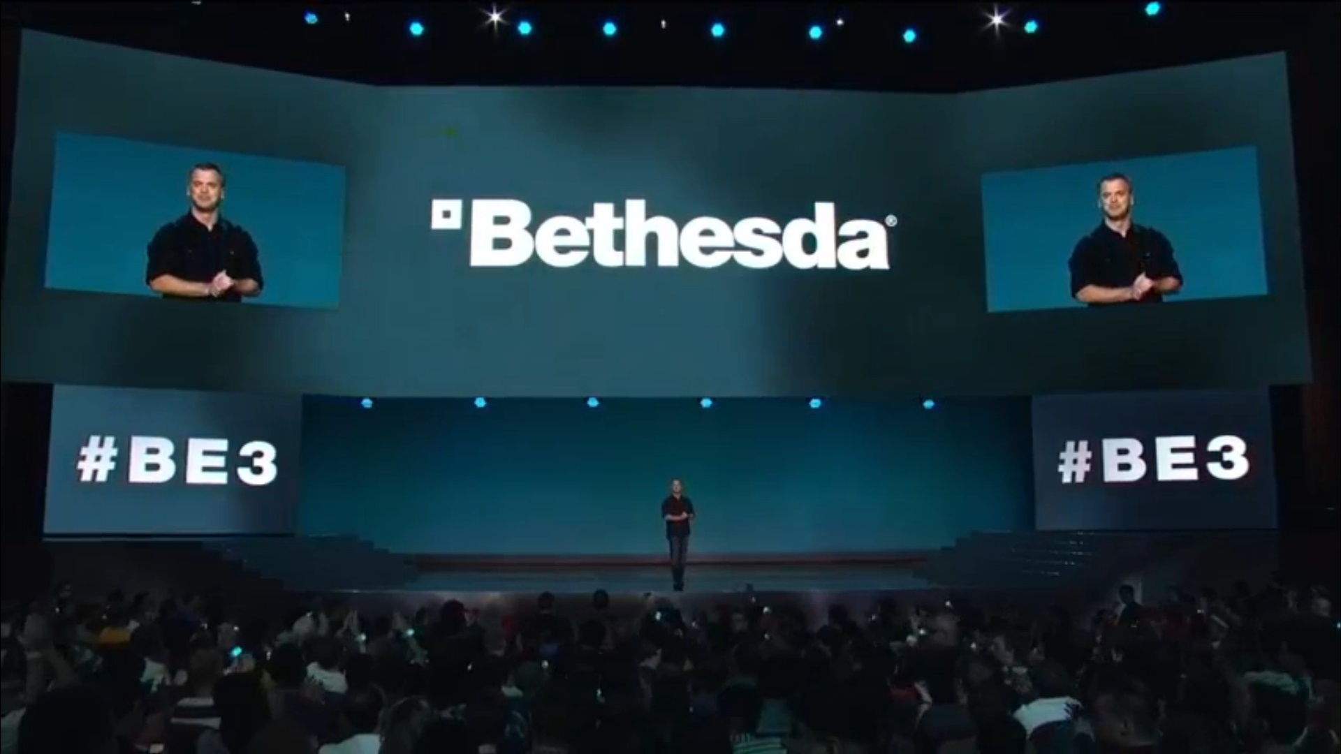Pete Hines introduces Bethesda at E3