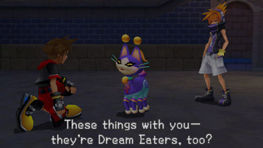 Kingdom Hearts 3D: Dream Drop Distance (3DS) Review Screenshots