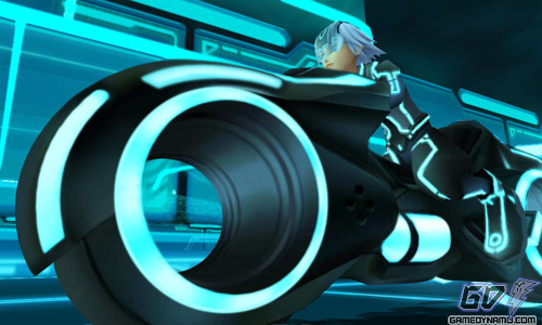 Kingdom Hearts 3D: Dream Drop Distance new world: TRON: Legacy The Grind (Nintendo, 3DS, Square Enix)