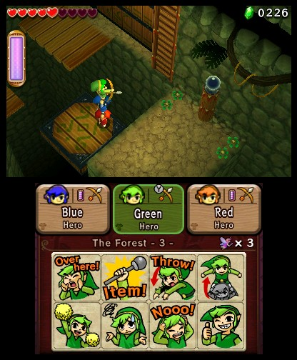 The Legend of Zelda: Tri Force Heroes (3DS) Hands-On Preview