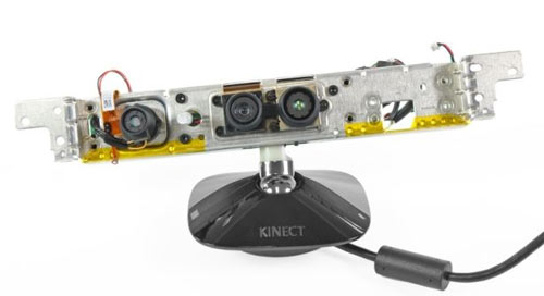 Microsoft's Kinect for Xbox 360 Teardown Device
