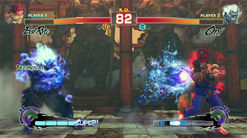 Super Street Fighter IV Arcade Edition Screenshot Oni (Xbox 360, PS3, PC)