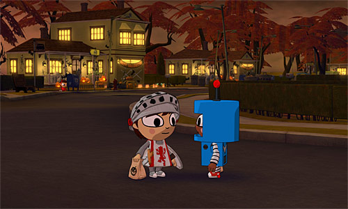 costume quest xbox 360 xbox live arcade ps3 playstation network - Halloween Xbox 360