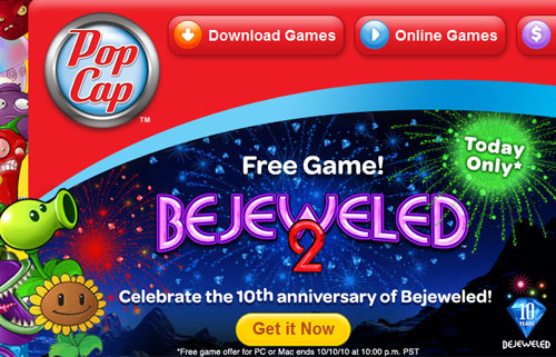 popcap games free download - Bejeweled by PopCap, PopCap Bejeweled 2 Deluxe, Delante POPCAP, and many more programs.
