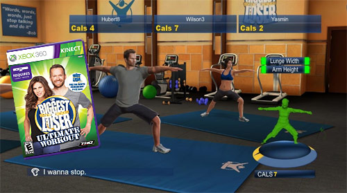 Kinect Biggest Loser Ultimate Workout (Xbox 360)
