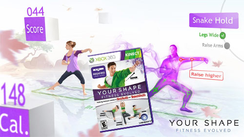 Kinect Your Shape Fitness Evolved (Xbox 360)