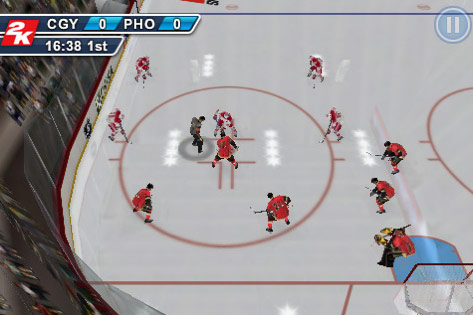 NHL 2K11 for iPhone / iPod Touch / iPad