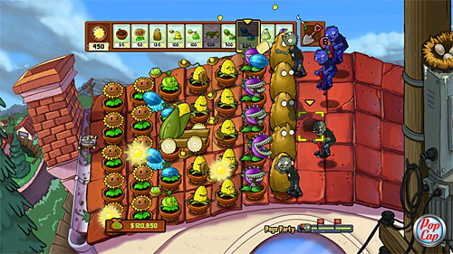 Plants vs Zombies (Xbox 360 - Xbox LIVE Arcade)