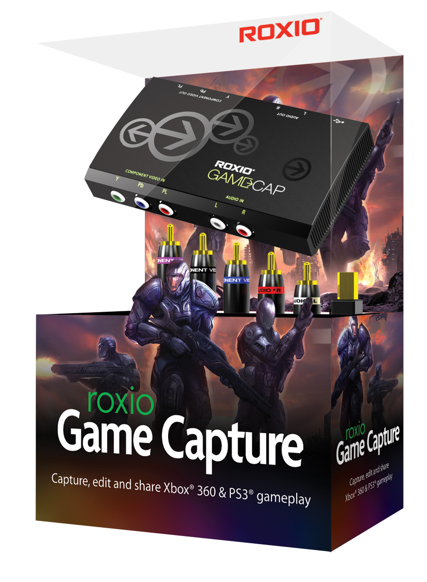 Roxio GameCap by Rovi - Gameplay Capture Hardware and Software (Xbox 360, PS3)