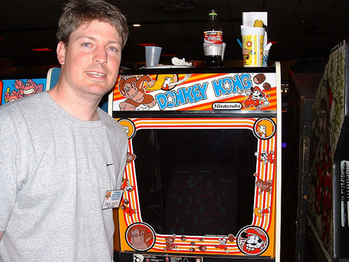 Steve Wiebe, World's best at Donkey Kong