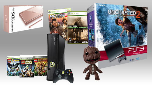 Best Gaming Deals - Gaming Consoles (Xbox 360, PlayStation 3, Nintendo DS Lite)