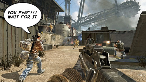 black ops funny screenshots. Call of Duty: Black Ops (PC,
