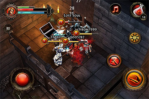 dungeon hunter mobile game download
