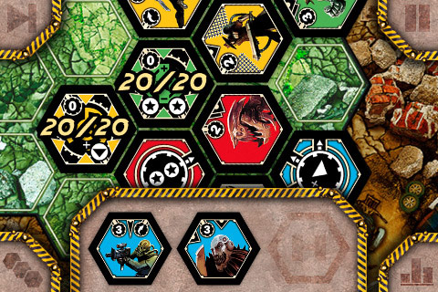 Neuroshima Hex (iOS - iPhone, iPod Touch, iPad)