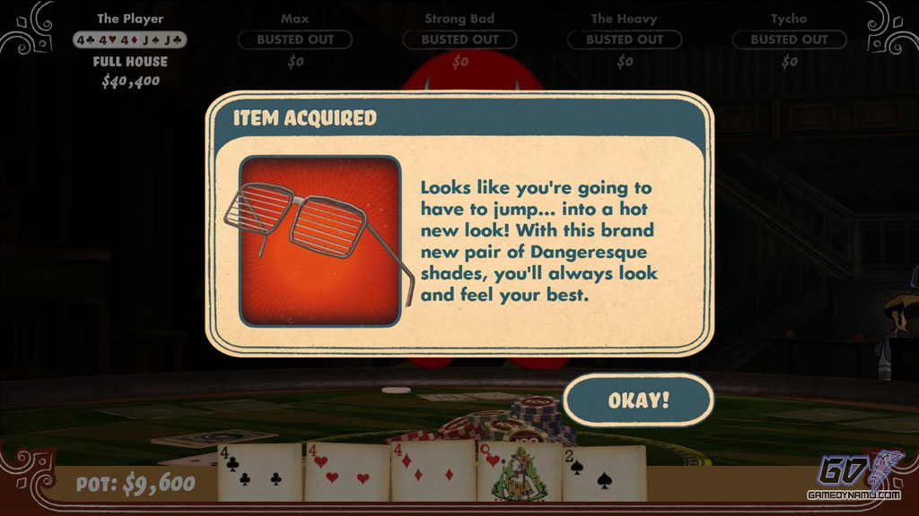 How to get poker night at the inventory items easy